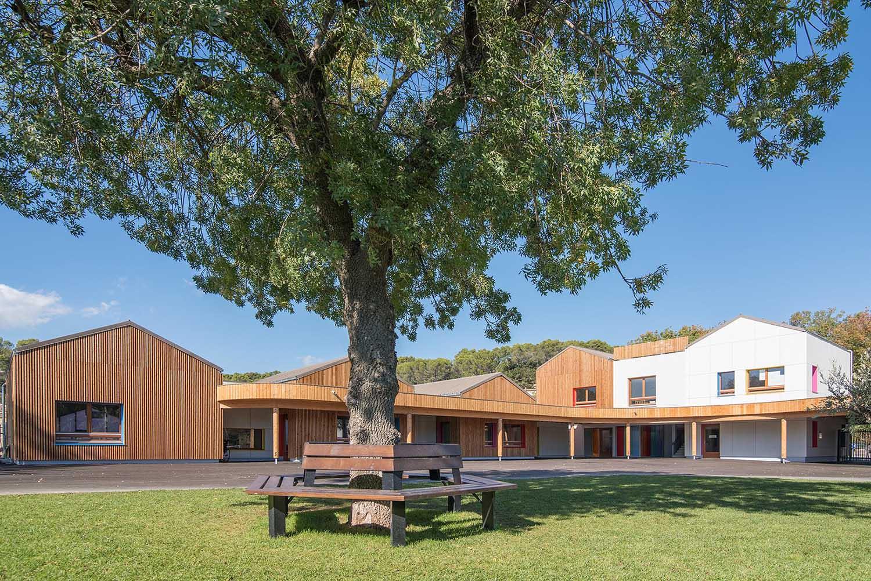 Réalisation Architecture École Pignans