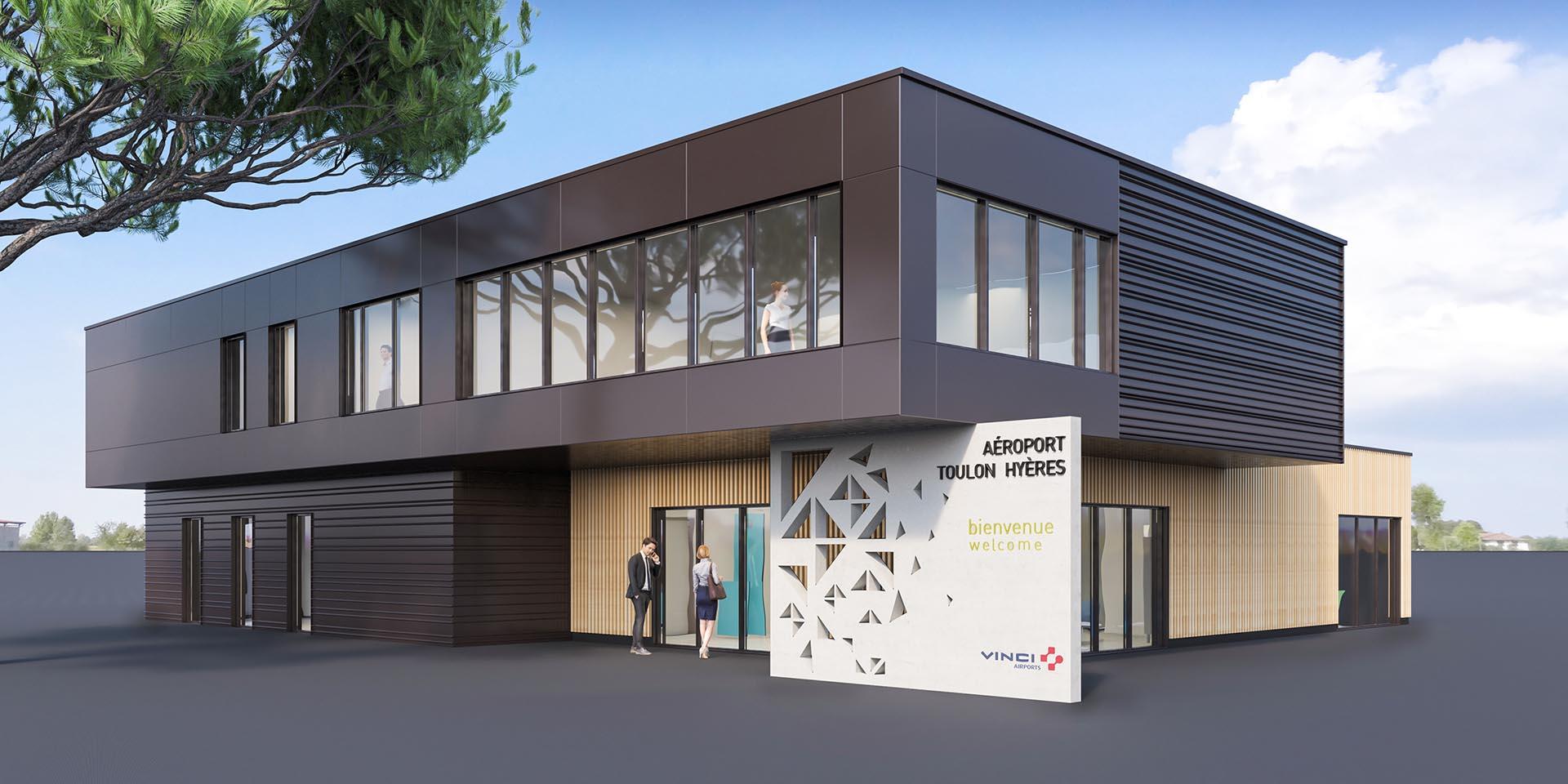 Réalisation Architecture Aéroport de Toulon