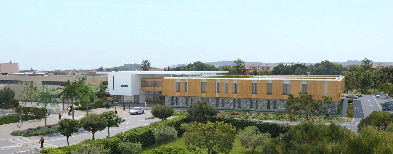 Réalisation Architecture Hôpital d'Antibes Juan-les-Pins