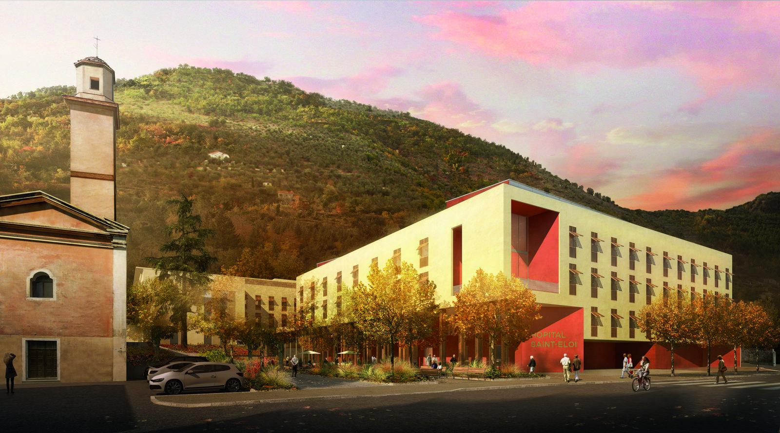 Réalisation Architecture Hôpital de Sospel