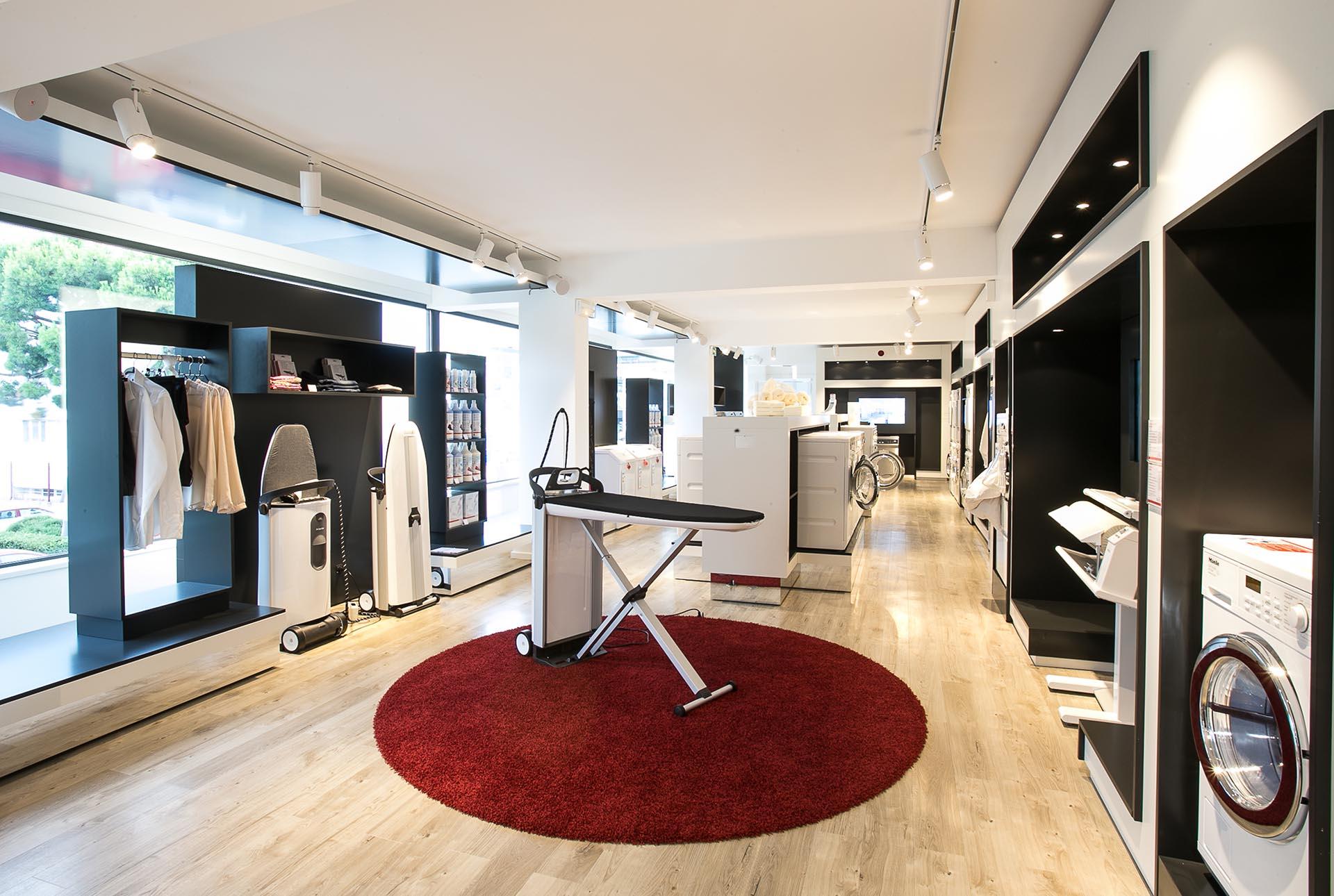 Réalisation Architecture Boutique Miele Nice