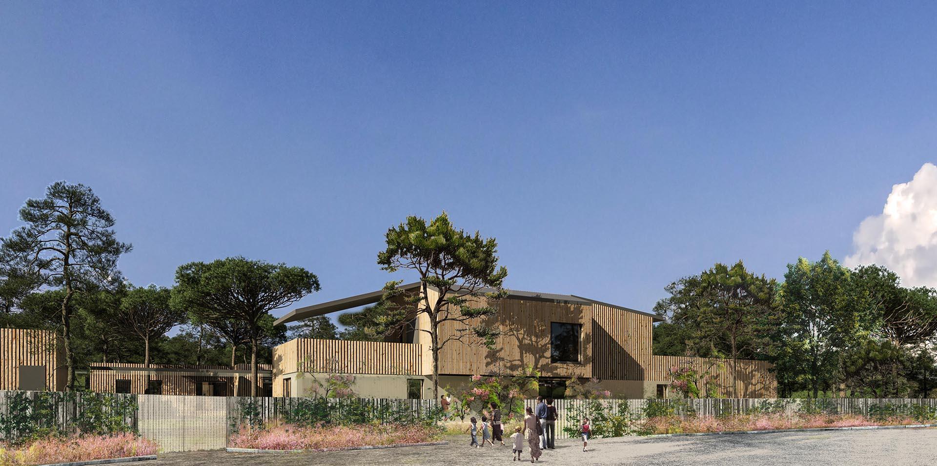 Réalisation Architecture Centre de Loisirs