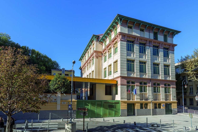 Réalisation Architecture Collège Ségurane Nice