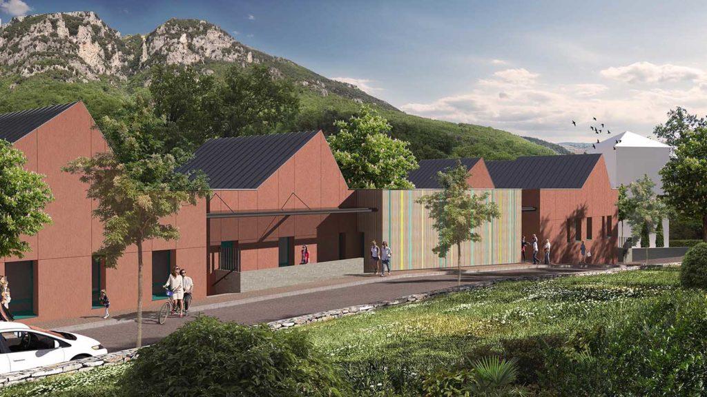Réalisation Architecture École Maternelle Gourdon Pont-du-Loup