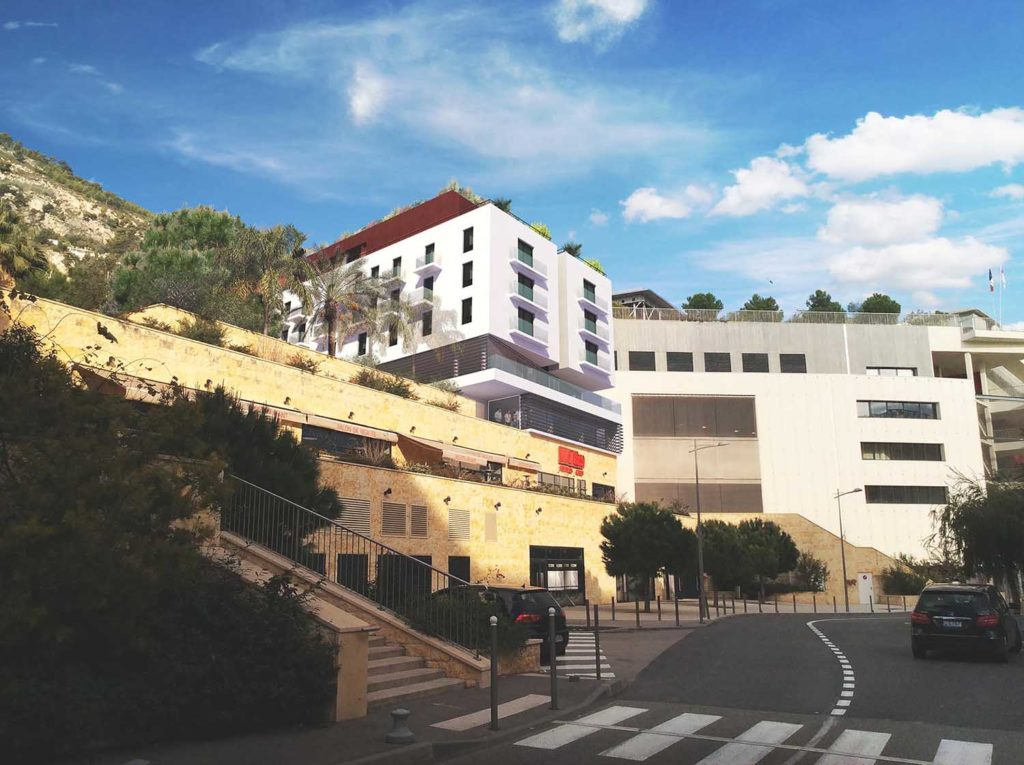 Réalisation Architecture immeuble Cap-d'Ail
