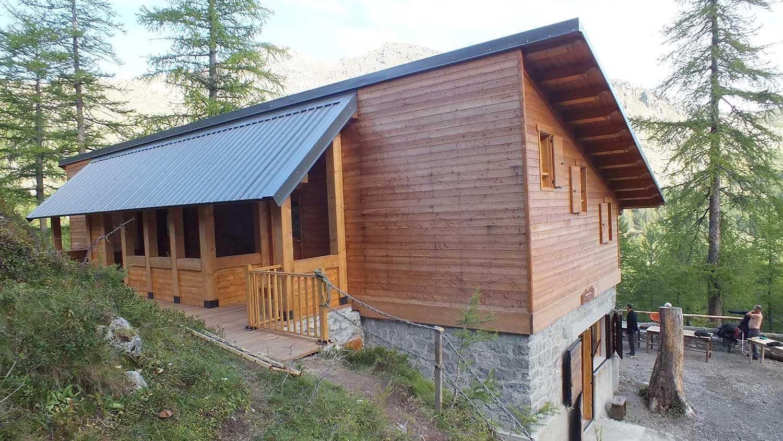 Réalisation Architecture refuge montagne Fontanalba Tende