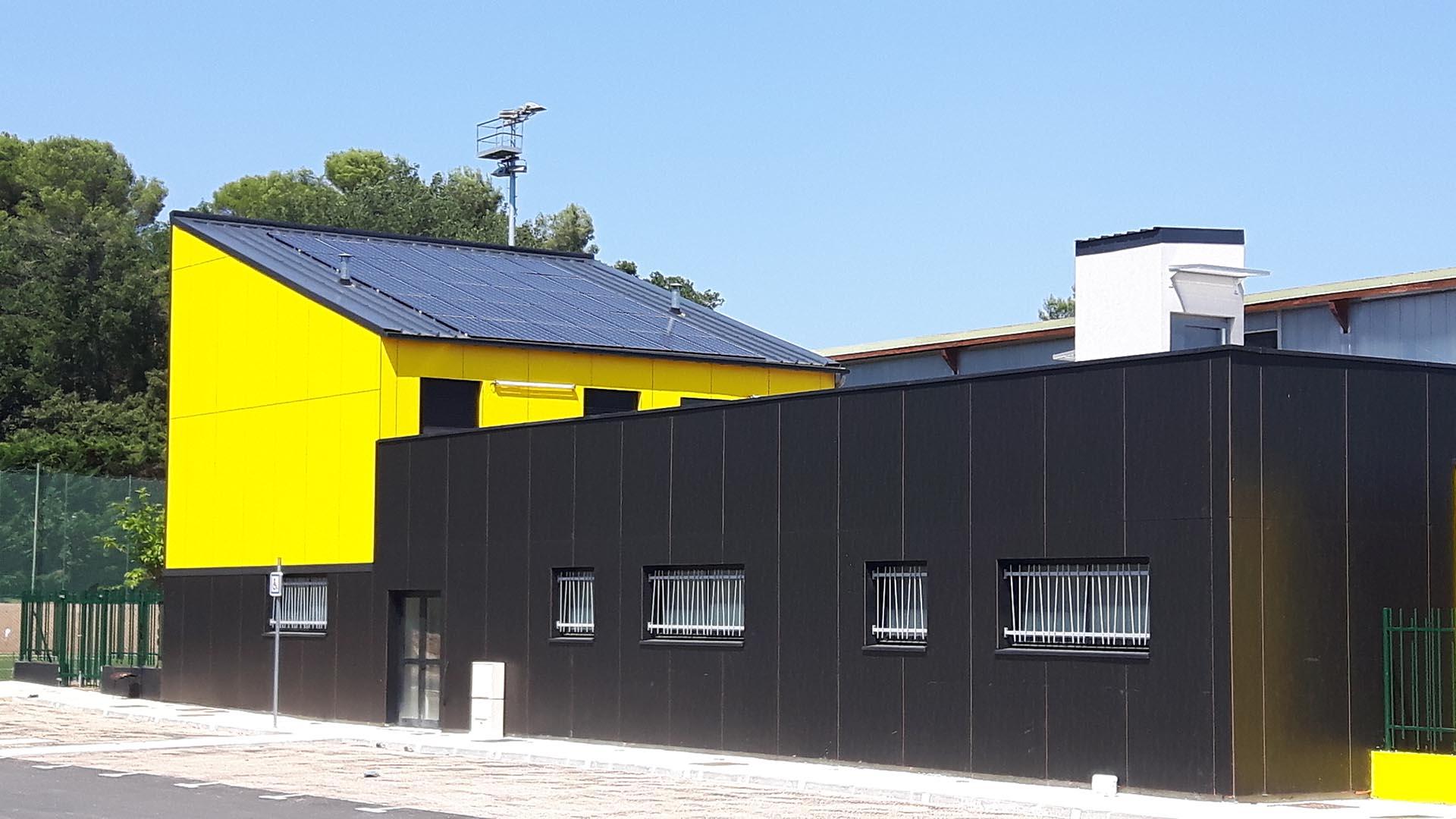 Réalisation Architecture stade de Valbonne