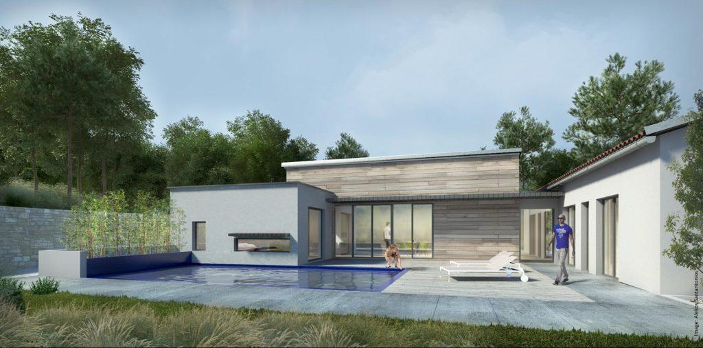 Réalisation Architecture villa Nice