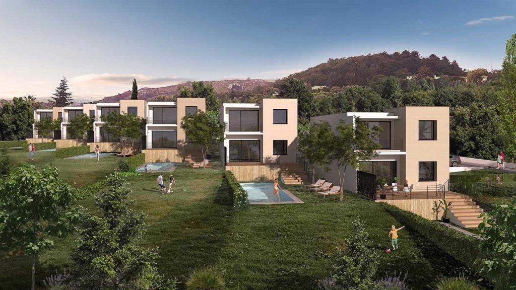 Réalisation Architecture villa Tourettes-sur-Loup