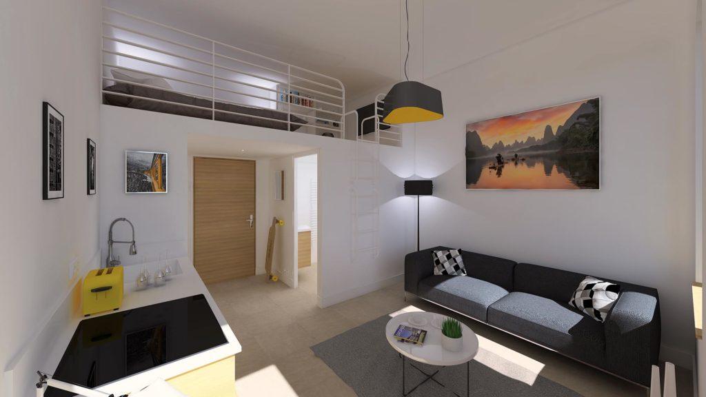 Réalisation Architecture rénovation logement Nice